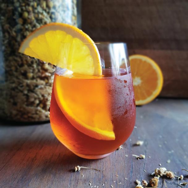 Rooibos Chamomile Iced Tea (Caffeine Free)