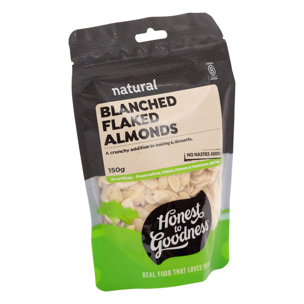 Blanched Flaked Almonds 150g