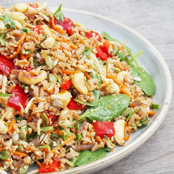 Organic Brown Rice Salad