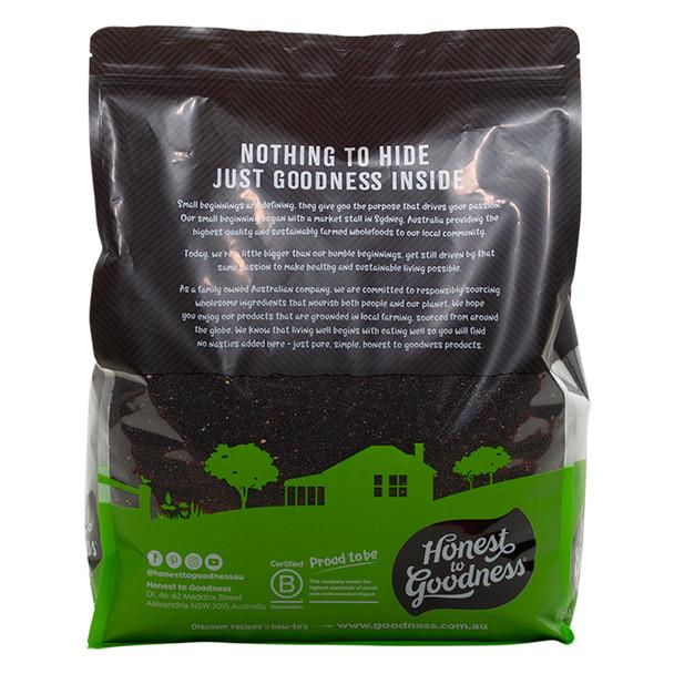 Organic Black Sesame Seeds 5KG