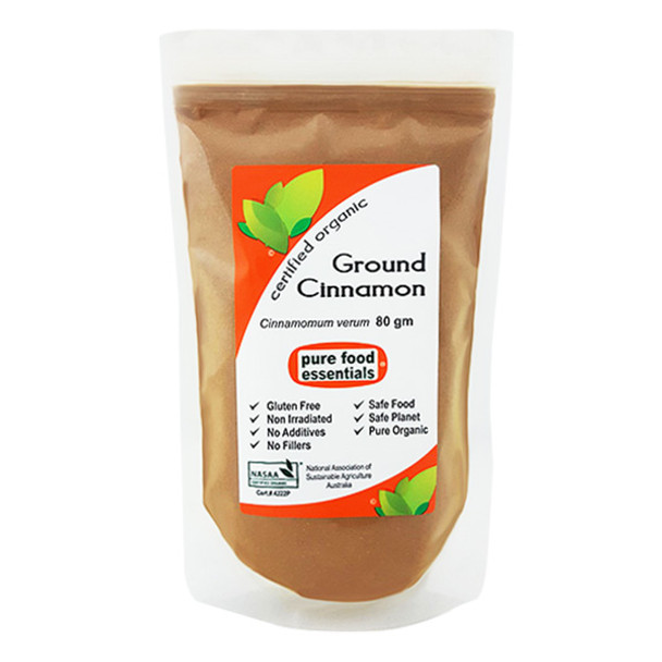 Organic Cinnamon Powder 80g