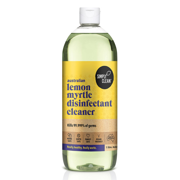 Lemon Myrtle Disinfectant Cleaner 1L