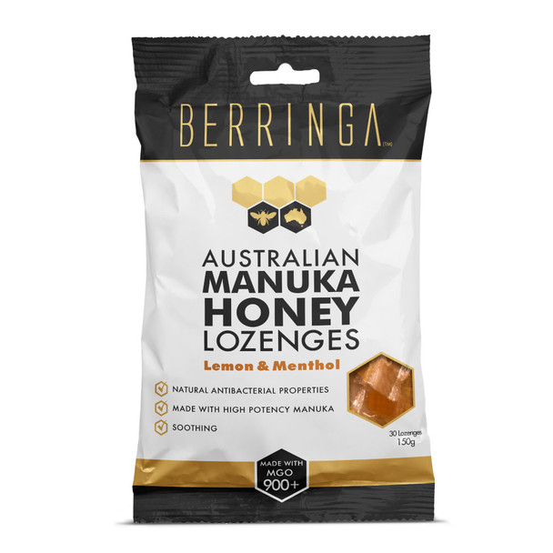 Berringa Australian Manuka Honey Lozenges 30 Pack