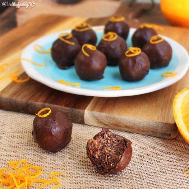 Jaffa Black Bean Truffles