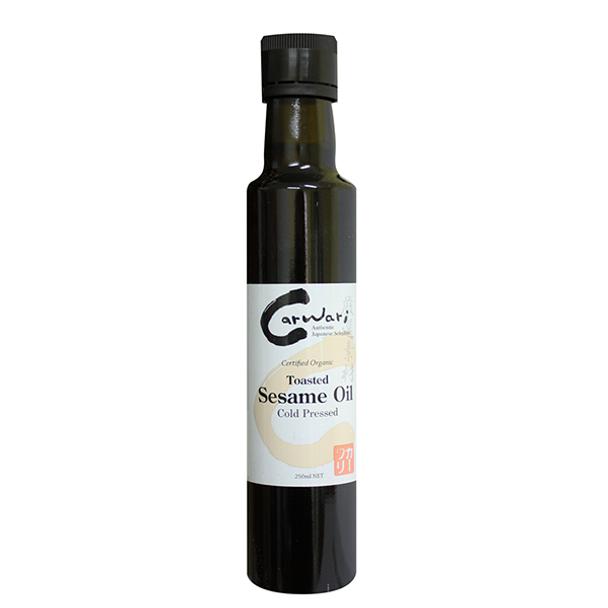 Organic Toasted Sesame Oil 250ml