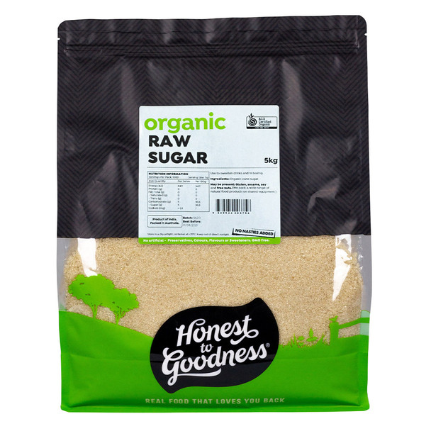 Honest to Goodness Organic Raw Sugar