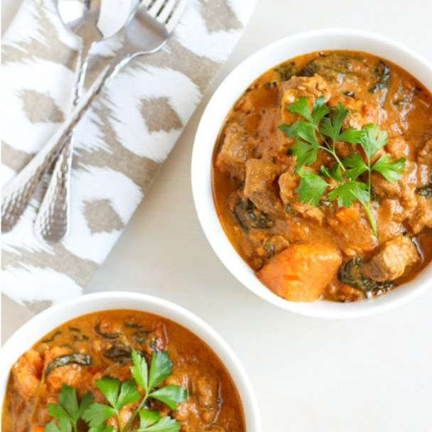 Slow Cooker Indian Beef Curry