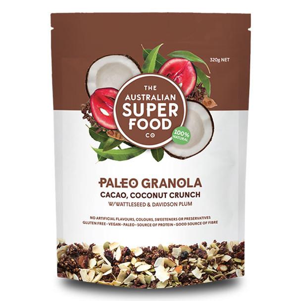 Paleo Granola - Cacao, Coconut Crunch 320g