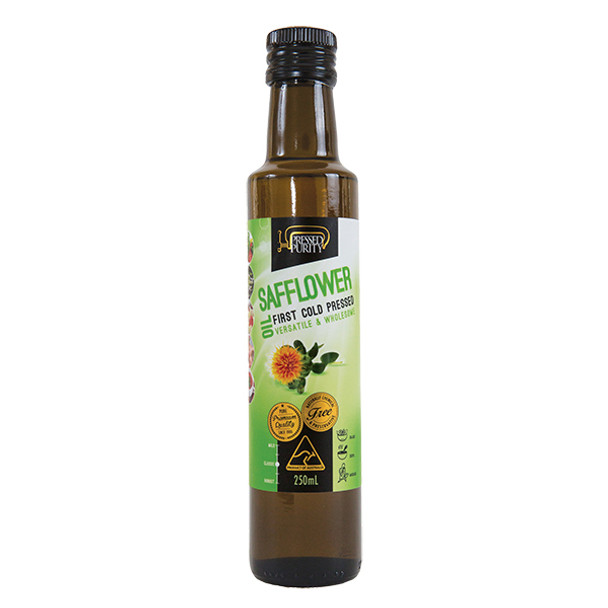 Safflower Oil - Cold Pressed 250ml
