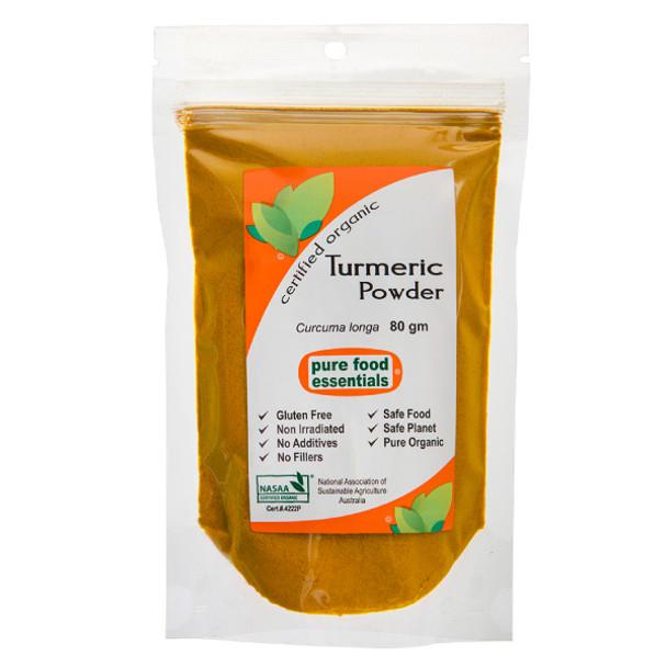 Organic Turmeric 80g