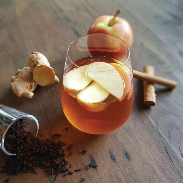 Spiced Apple Pie Iced Tea