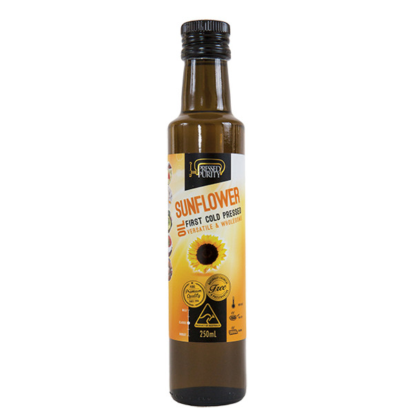 Pressed Purity Cold Pressed Sunflower Oil