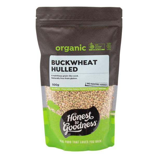 Organic Hulled Buckwheat 500g