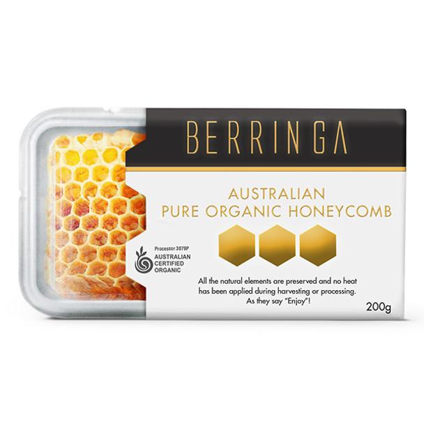 Berringa Australian Pure Organic Honeycomb 200g