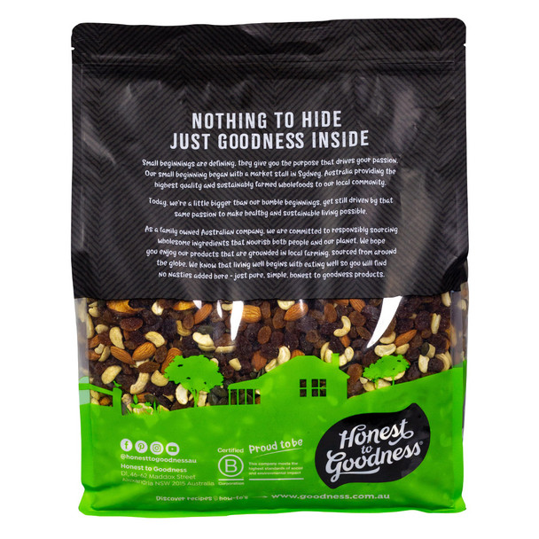 Be Good Organic Trail Mix 5KG