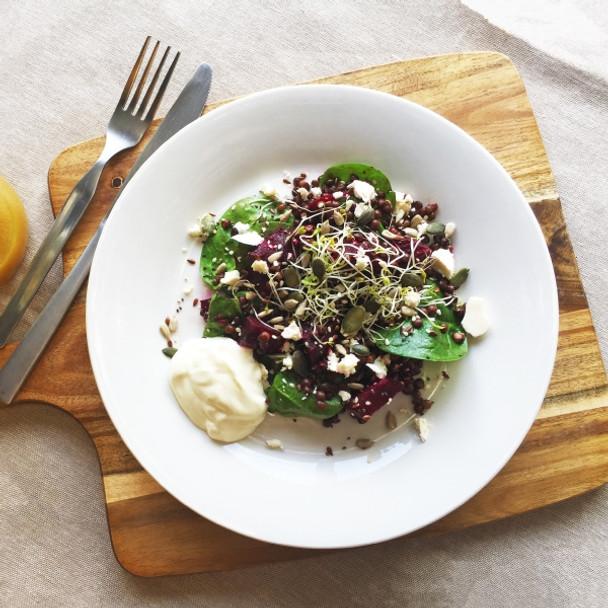 Lentil & Beet Spring Salad