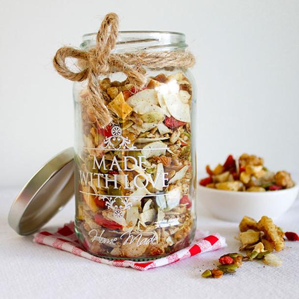 Grain Free Christmas Granola