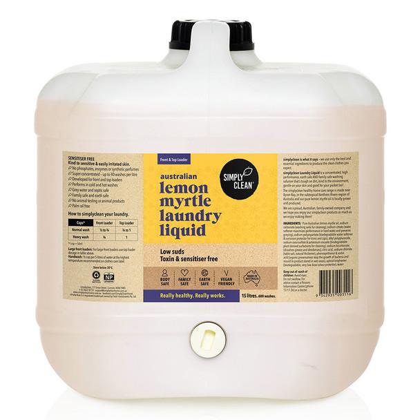 Lemon Myrtle Laundry Liquid 15L