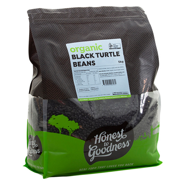 Organic Black Turtle Beans 5KG