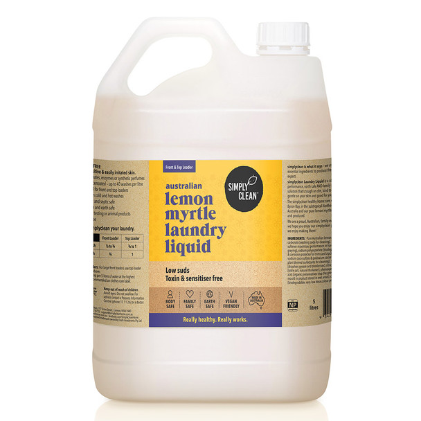 Lemon Myrtle Laundry Liquid 5L