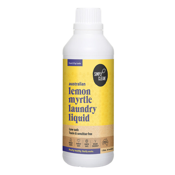 Lemon Myrtle Laundry Liquid 1L
