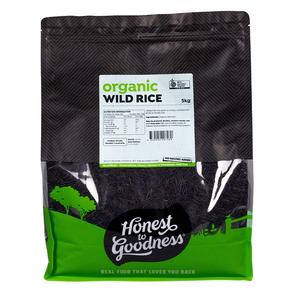 Honest to Goodness Organic Wild Rice Bulk