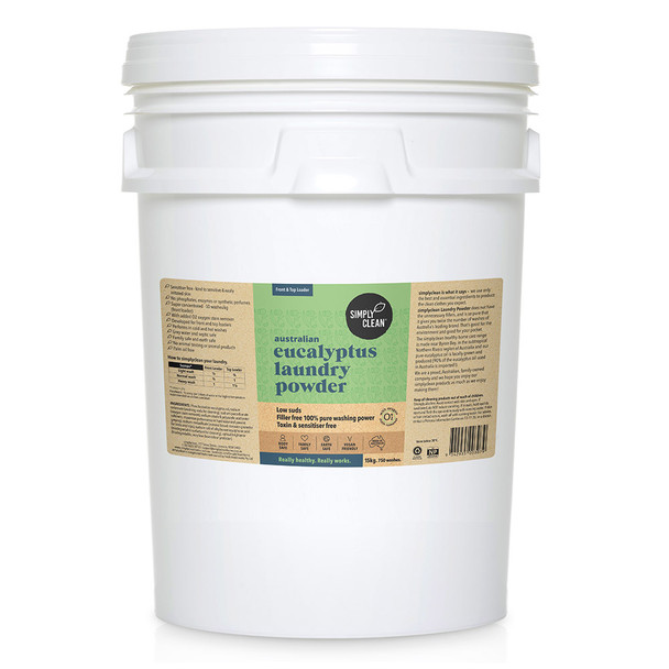 Eucalyptus Laundry Powder 15KG