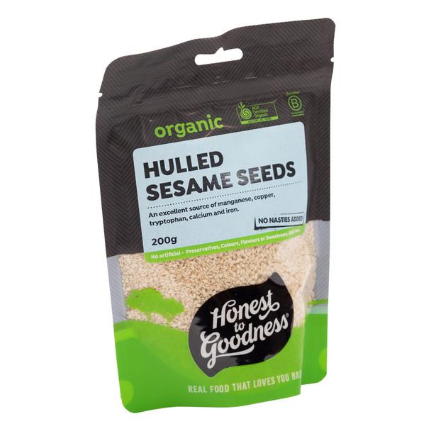 Organic Hulled Sesame Seeds 200g