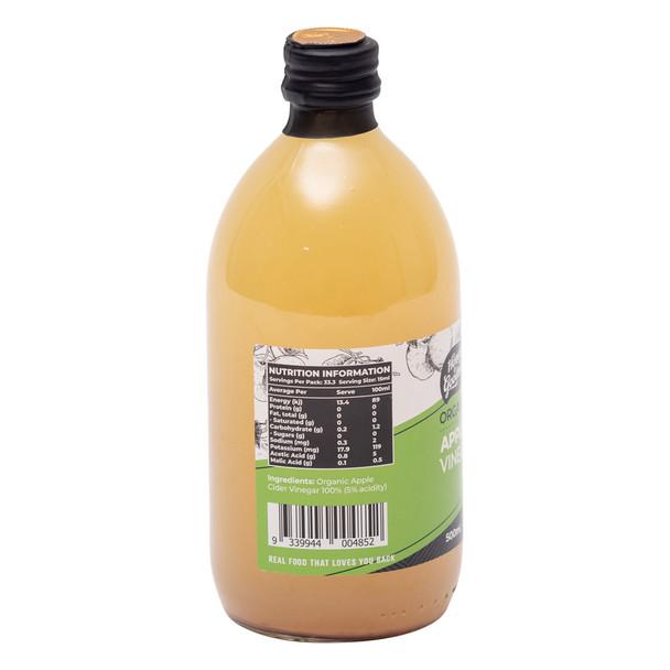 Organic Apple Cider Vinegar 500ml
