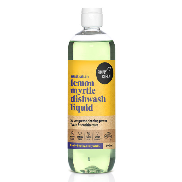 Lemon Myrtle Dishwash Liquid 500ml