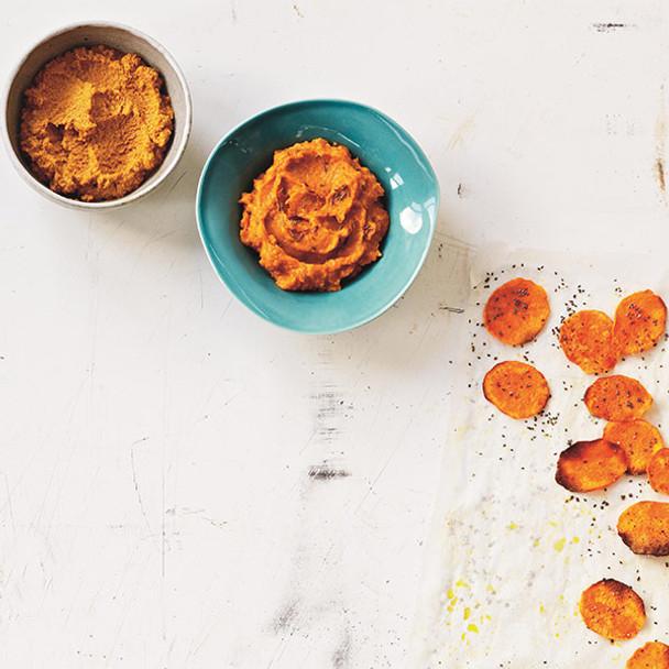 Spicy Roast Pumpkin Dip