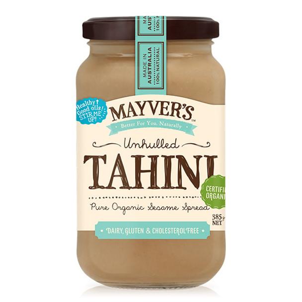 Mayver's Organic Tahini Unhulled  385g