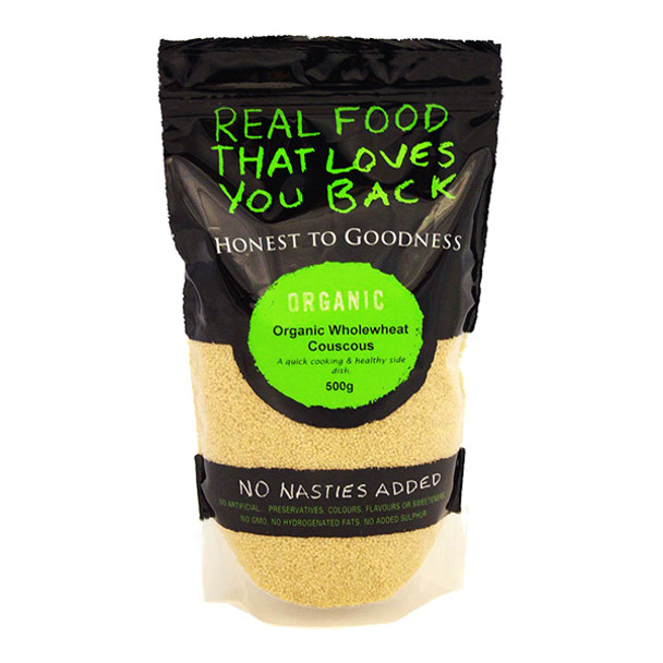 Organic Couscous Wholewheat 500g