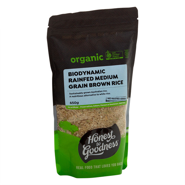 Biodynamic Rain Fed Brown Rice 650g