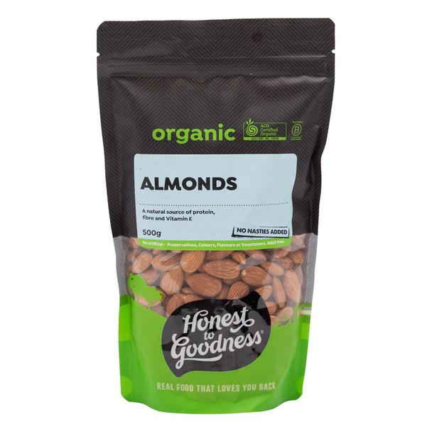 Organic Almonds 500g