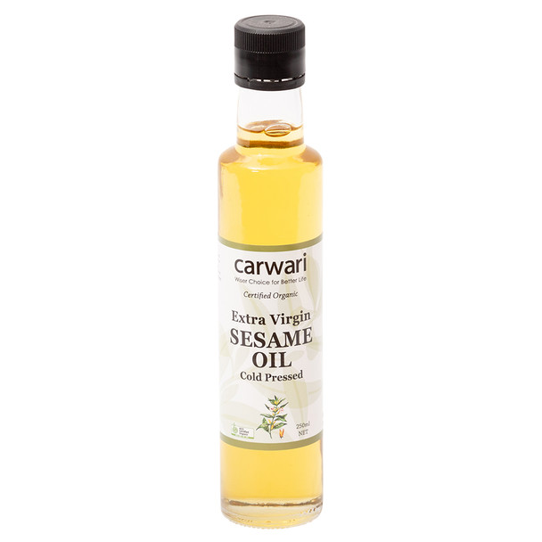 Organic Sesame Oil - Extra Virgin 250ml