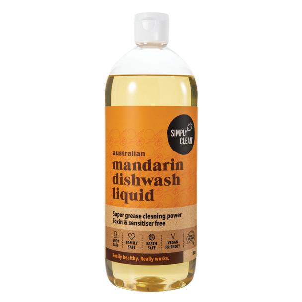 Mandarin Dishwash Liquid 1L