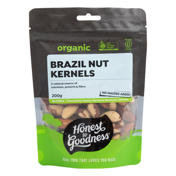 Organic Brazil Nuts 200g
