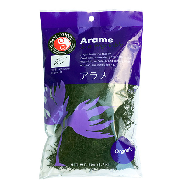 Spiral Organic Arame Sea Vegetable 50g