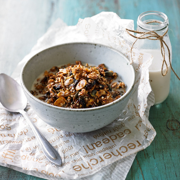 Cranberry and Walnut Granola