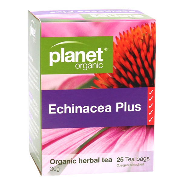 Organic Echinacea Plus Tea Bags x 25