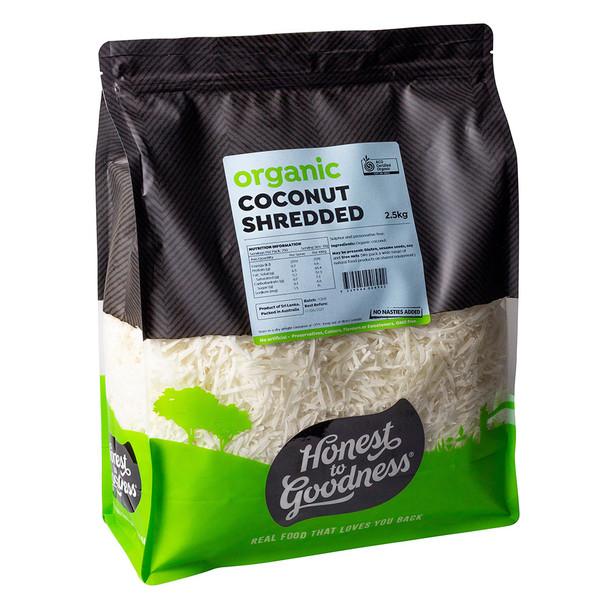 Organic Shredded Coconut 2.5KG