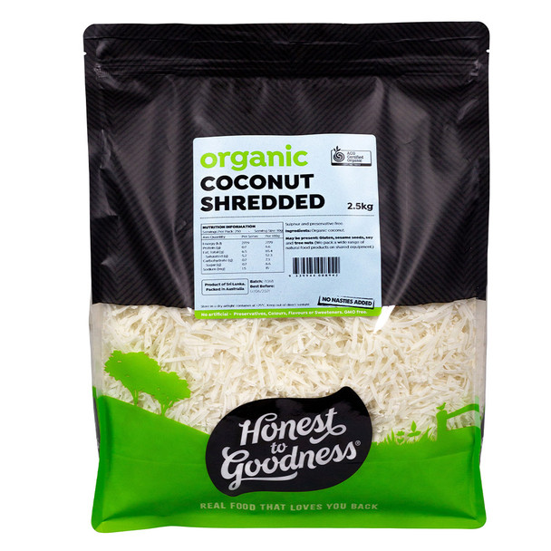 Honest to Goodness Organic Shredded Coconut