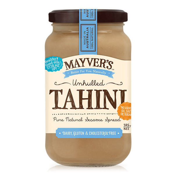 Mayver's Tahini Unhulled 385g