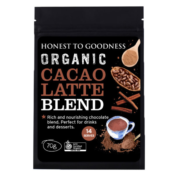 Organic Cacao Latte Blend 70g