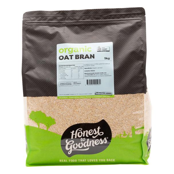 Organic Oat Bran 5KG