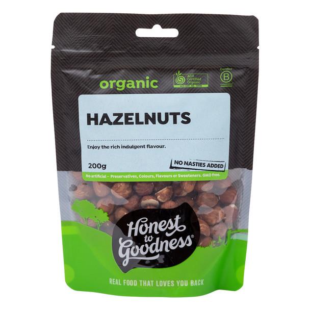 Organic Hazelnuts 200g