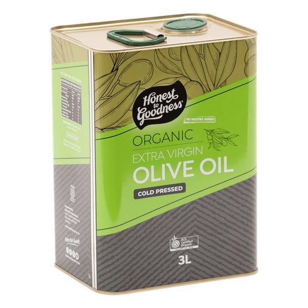 Organic Olive Oil Extra Virgin 3L