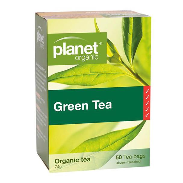 Planet Organic Green Tea Bags x 50