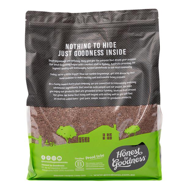 Organic Brown Linseed 5KG